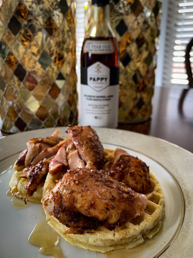 Smoked_Pappy_Chicken_And_Waffles