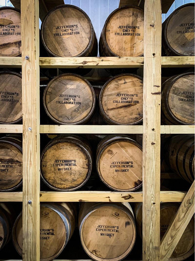 Jeffersons-KY-Artisan-Distillery-Barrels