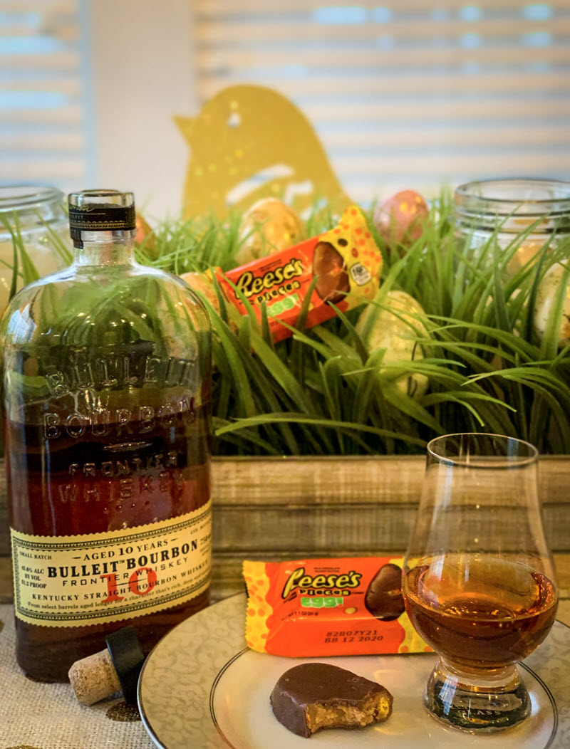 Bulleit-Bourbon-10-Year-Old-Reeses-Pieces-Egg