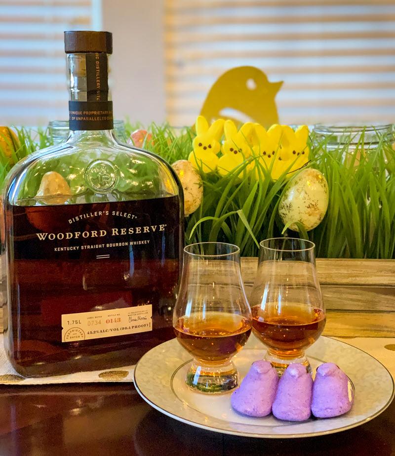 Woodford-Reserve-Kentucky-Straight-Bourbon-Whiskey-Peeps-Marshmallow