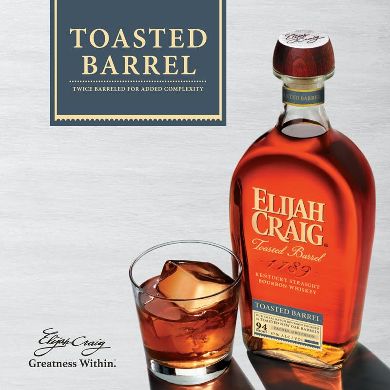 Elijah Craig Toasted Barrel Release