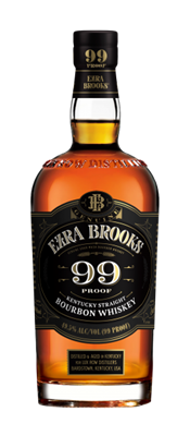 Ezra Brooks 99 bottle