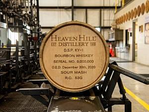 Heaven Hills Distillery Fills 9 million bourbon barrels