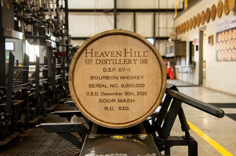 Heaven Hill fills 9 million bourbon barrels