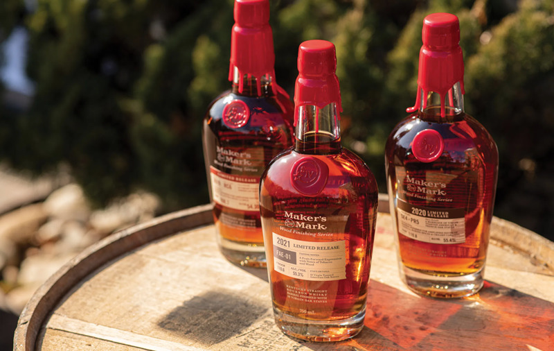 Makers Mark Wood Finishing Series Lineup