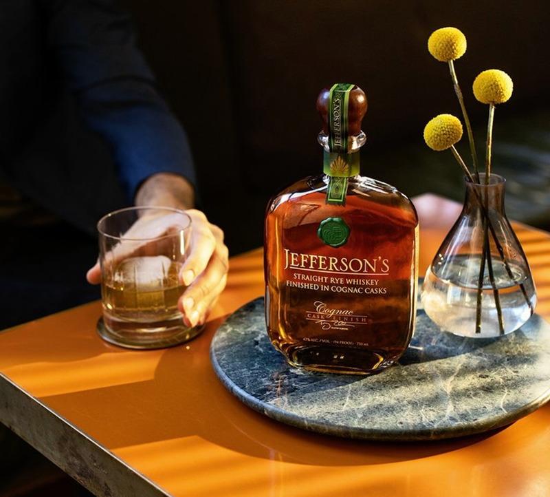 Jefferson's Straight Rye Whiskey Finished in Cognac Casks