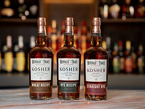 Buffalo Trace Distillery Kosher Trio