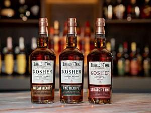 Buffalo Trace Distillery Kosher Trio