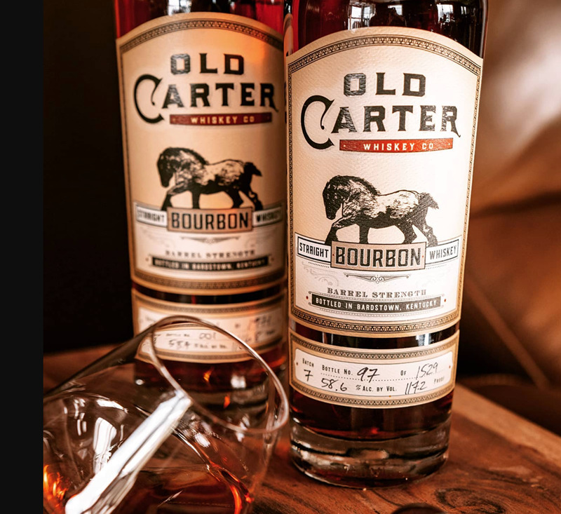 Old Carter Whiskey Co Spring 2021 Bourbons