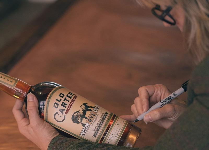 Old Carter Rye Whiskey