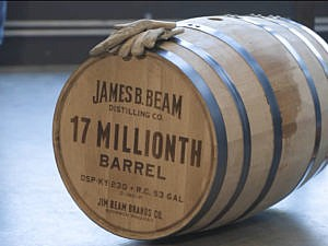 James B. Beam Fills 17 Millionth Barrel