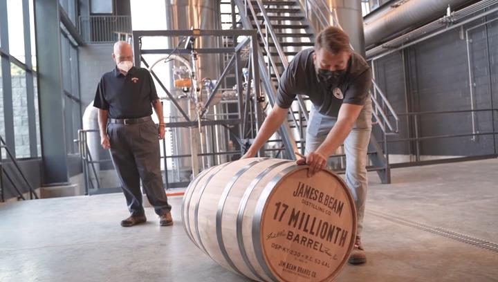 Beam 17 Millionth Barrel